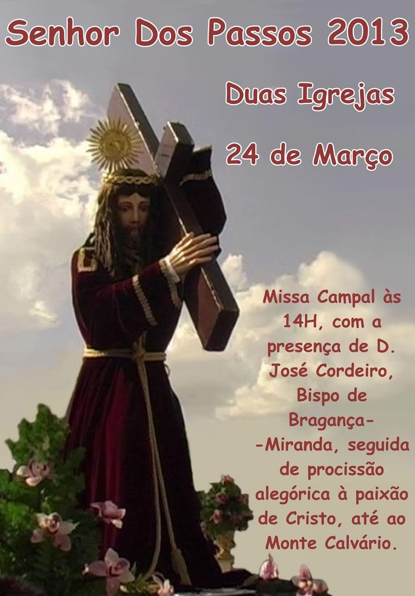 Artesanato Jornal Passo A Passo ~ Senhor Dos Passos 2013 Duas Igrejas Turismo Bragança