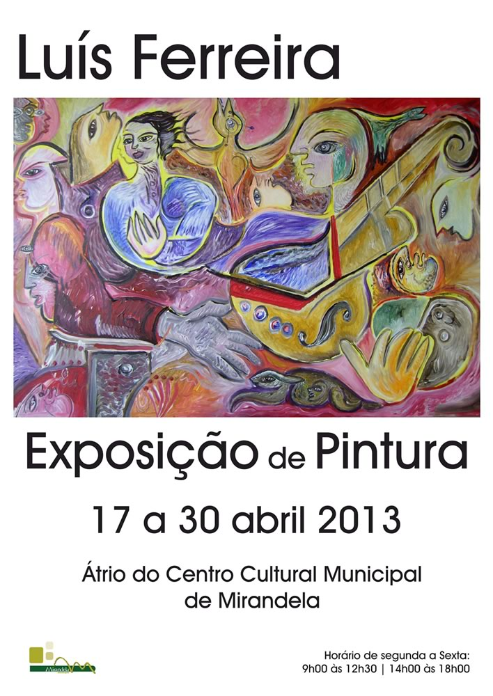 - Exposicao-Pintura-Luis-Ferreira_Mirandela