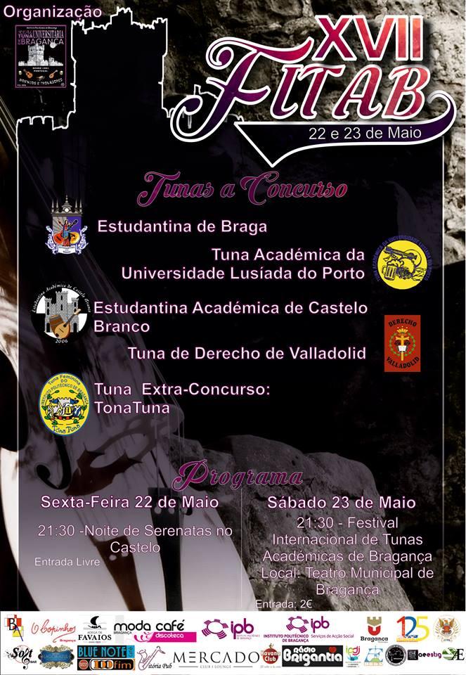 Fitab Calendario.Fitab Festival Internacional De Tunas Academicas De